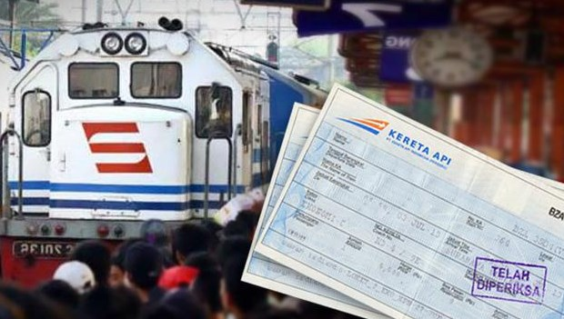 tiket kereta api indonesia